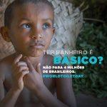 Falta de saneamento: um problema crônico no Brasil