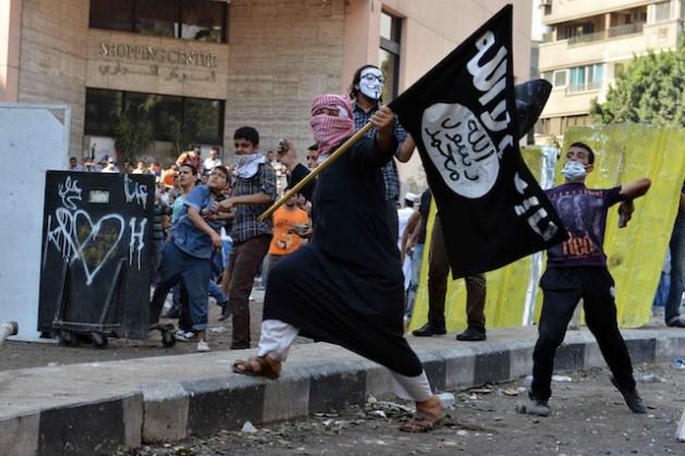 A Irmandade Muçulmana tem seu próprio exército de jovens que não são fáceis de derrotar. Foto: Hisham Allam/IPS