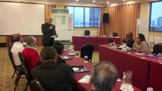 Celso Schröder encerra seminário em Lima sobre mudança do clima que reuniu dirigentes sindicais e jornalistas do Peru, Chile, Colombia, Panamá, Costa Rica, Brasil e República Dominicana