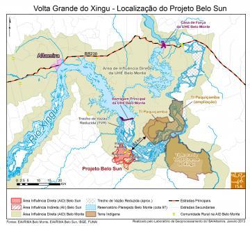 Projeto da Belo Sun, no Pará