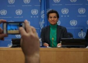 Christiana Figueres, secretária executiva da Convenção Marco das Nações Unidas sobre Mudança Climática (CMNUCC). Foto: Lusha Chen /IPS