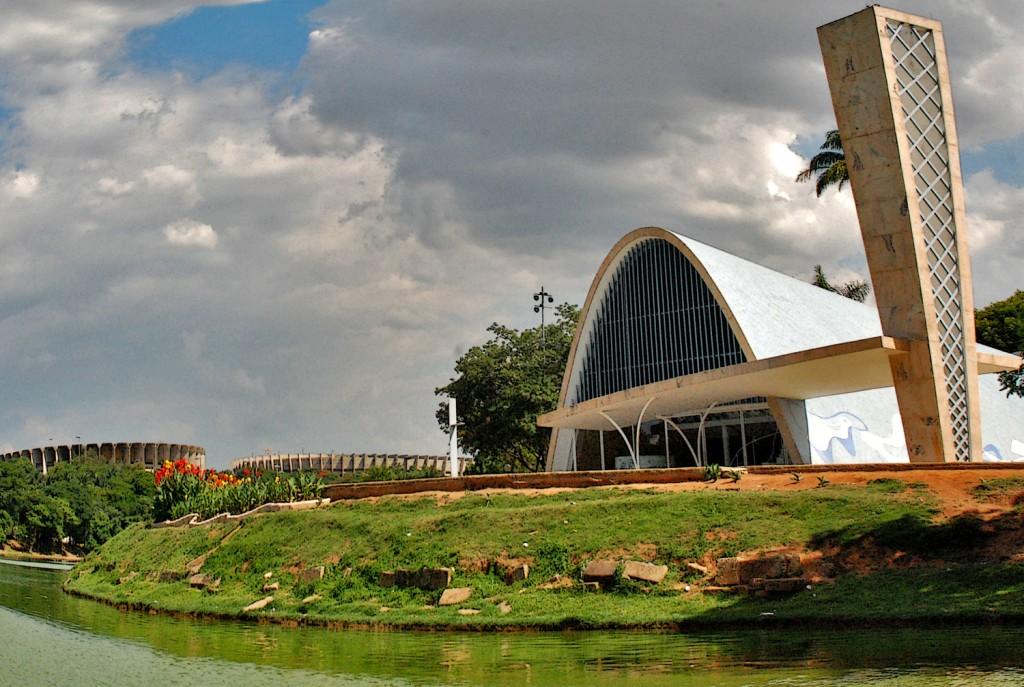 Igreja da Pampulha será um dos ícones apagados em Belo Horizonte na Hora do Planeta 2014  © Prefeitura Municipal de Belo Horizonte/Divino Advincula