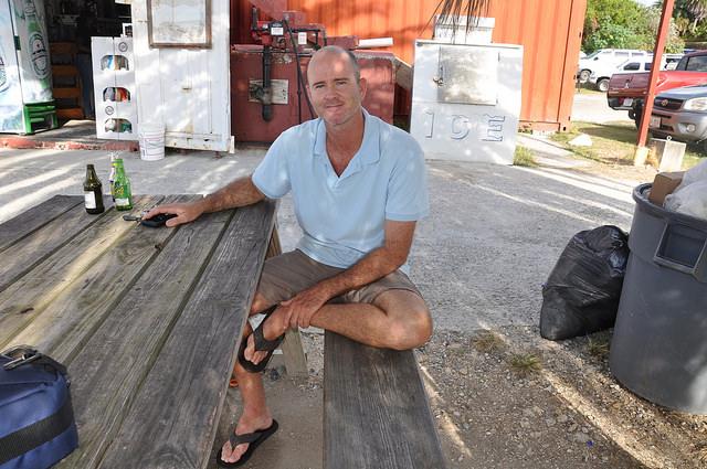 O ambientalista marinho Eli Fuller considera que os arrecifes do Caribe estão com grandes problemas. Crédito: Desmond Brown/IPS