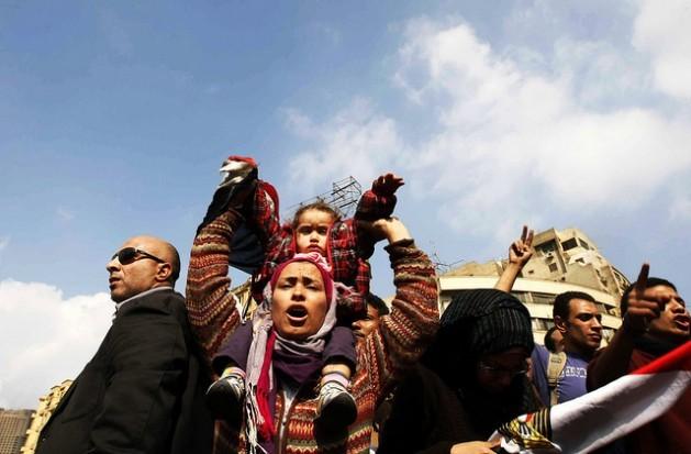 Na praça Tahrir, no Cairo. Foto: Mohammed Omer/IPS