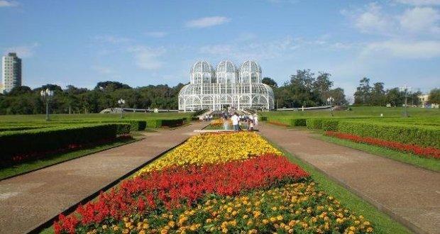 Jardim Botânico de Curitiba. Foto: Parques e Praças de Curitiba