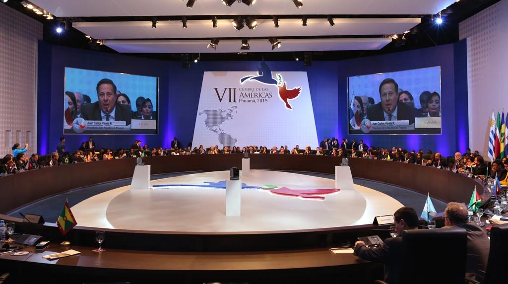 11/04/2015 – Panamá – Segunda sessão plenária da Sétima Cúpula das Américas. Foto: Cumbre Panamá