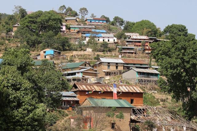 Este povoado do distrito de Kavre foi um dos mais danificados pelo terremoto de 25 de abril. Foto: Naresh Newar/IPS