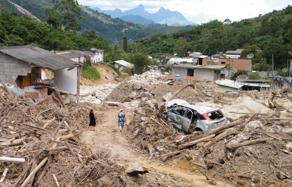 Catástofre em Teresópolis