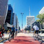 Ocupando o símbolo de São Paulo