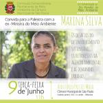 Câmara Municipal de São Paulo recebe Marina Silva