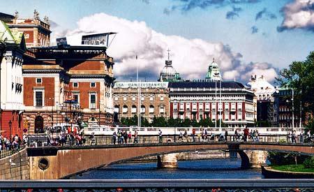 Pontes de Estocolmo, na Suécia.Foto: Mariano Mantel