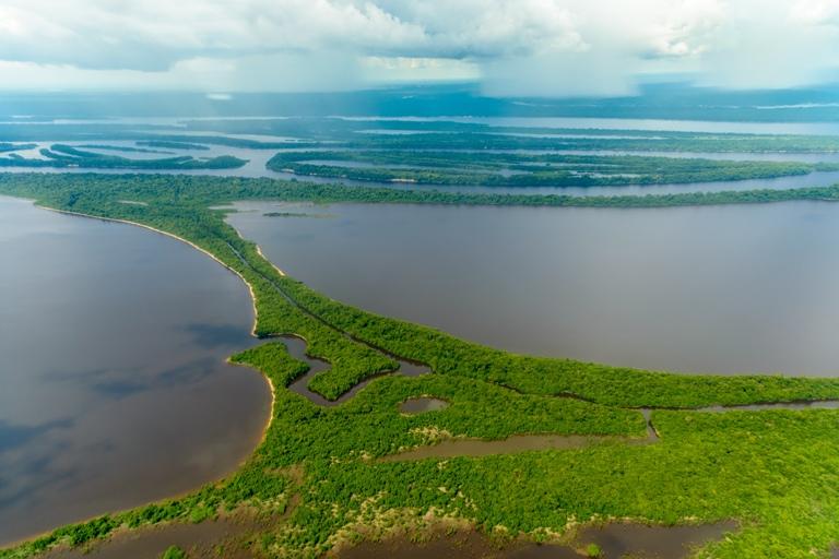 Vista aérea da Amazônia Brasileira. Foto: Shutterstock