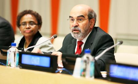 Brasileiro José Graziano dirige a FAO. Foto: Ryan Brown/ONU