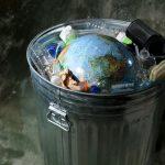 As emissões que vêm das nossas latas de lixo