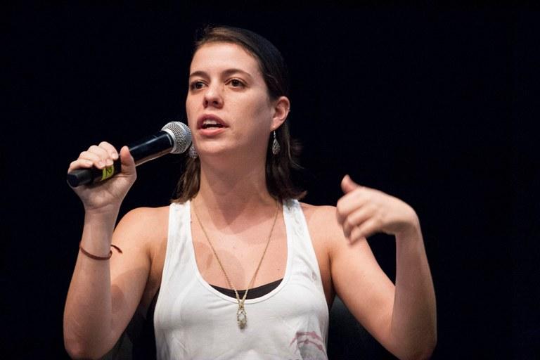 Raquel Rosemberg. Foto: Paulo César Lima
