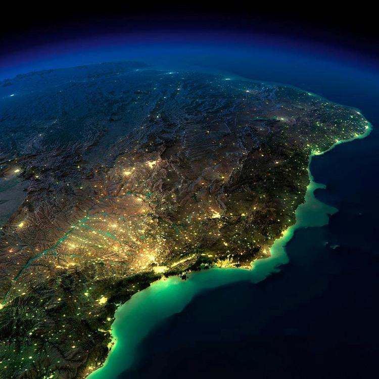 Luzes do eixo Rio-São Paulo