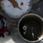 Escassez de água tem rosto de mulher