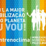 Mobilização Global pelo Clima. Participe!