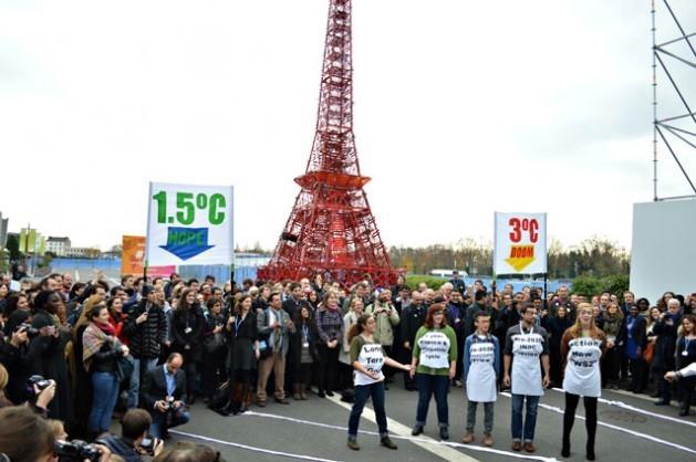 Segundo o Acordo de Paris, o mundo deve buscar uma elevação da temperatura de 1,5 grau Celsius, uma proposta recente da sociedade civil. Foto: Diego Arguedas Ortiz/IPS