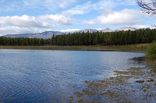 Vista do lago General Carrera, o segundo maior da América do Sul situado na região de Aysén, na Patagônia chilena, um indômito território que é considerado o paraíso hídrico do país. Foto: Marianela Jarroud/IPS