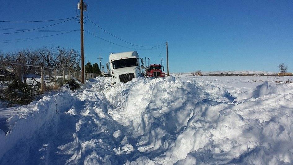 Neve no Texas