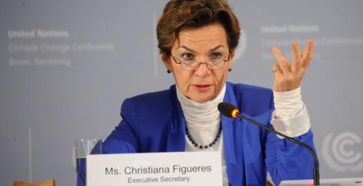 A secretária-executiva da UNFCCC (Convenção do Clima das Nações Unidas), Christiana Figueres, anunciou que sairá do cargo em julho.