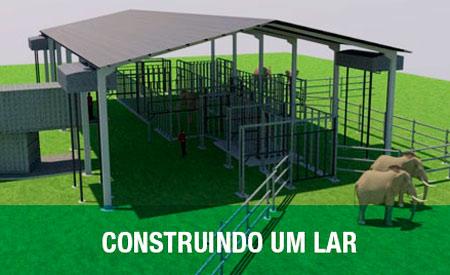 A primeira etapa inclui um Centro de Tratamento Médico e dois currais conjugados de 8 hectares cada. Foto: Divulgação