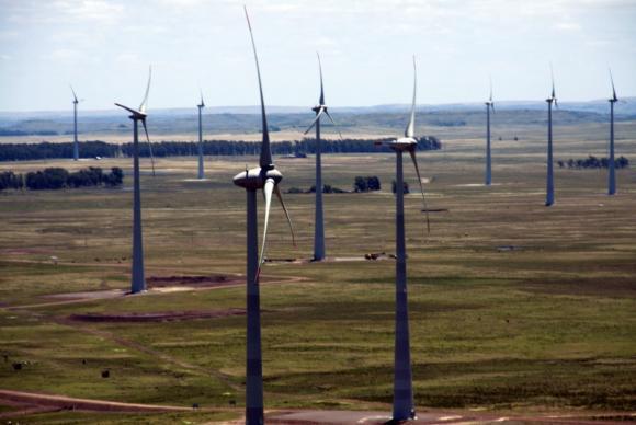 Usina eólica de Cerro Chato. Foto: Arquivo/Agência Brasil