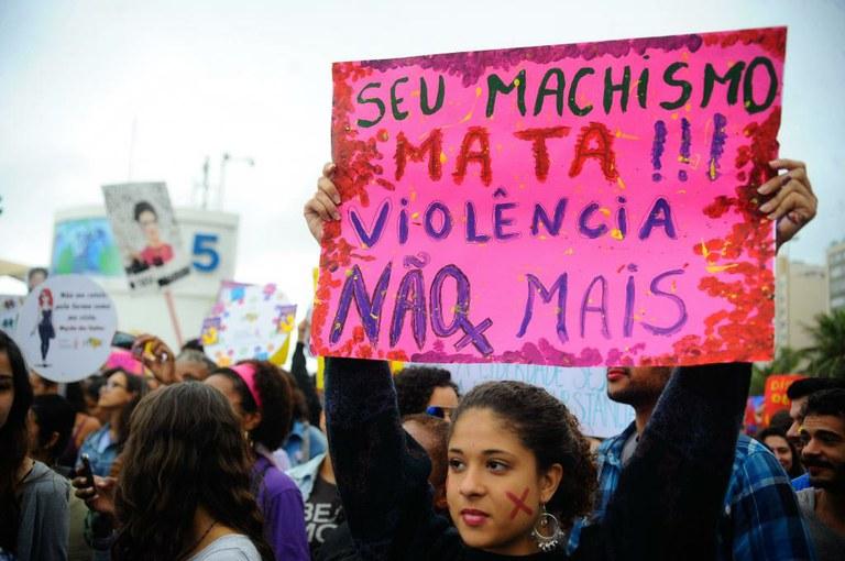 Marcha das Vadias, no Rio, em agosto de 2014: a conscientização é ferramenta para lutar contra os abusos. Foto: Fernando Frazão / Agência Brasil