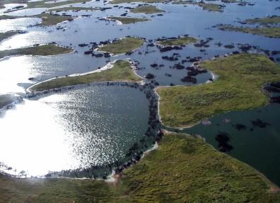 Modelos também sugerem que, durante o inverno no hemisfério Sul, a região poderá ter redução na quantidade de chuva de 30% a 40%. Foto: Wikimedia Commons
