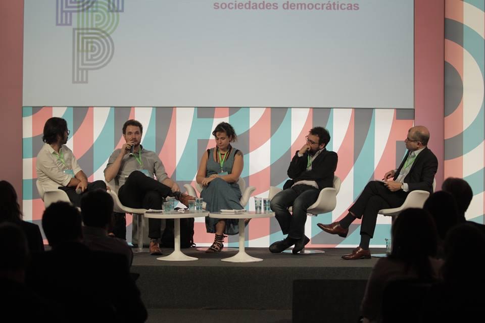 """Congresso Gife 2016 - Painel """"O papel do jornalismo em sociedades democráticas""""."""