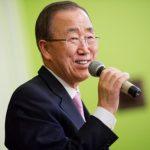 Ban pede ratificação de Paris em setembro