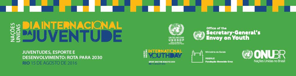 Dia Internacional da Juventude: ONU debate Agenda para 2030 com jovens no Rio de Janeiro