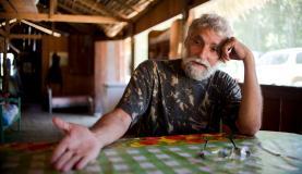 Jair Candor, sertanista da Funai na Terra Indígena Kawahiva do Rio Pardo. Foto: Marcelo Camargo/Agência Brasil