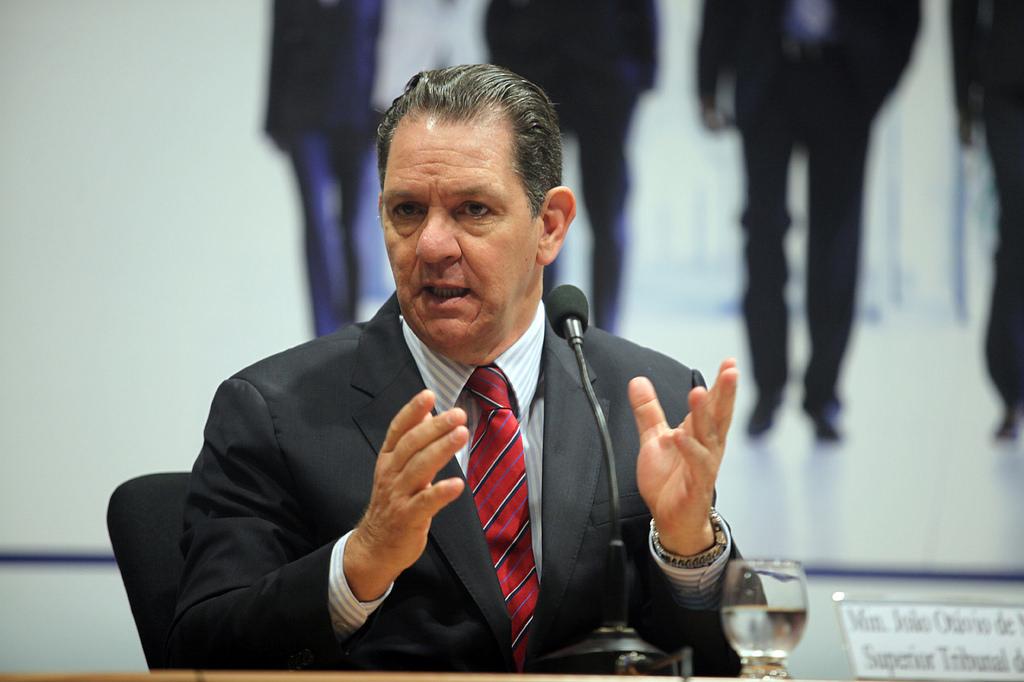 O recém-empossado corregedor do CNJ, João Otávio de Noronha.Foto: Gláucio Dettmar/Agência CNJ