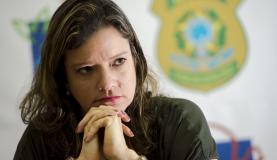 A Superintendente do Ibama em Mato Grosso, Lívia Martins, em entrevista à Agência Brasil. Foto: Marcelo Camargo/Agência Brasil