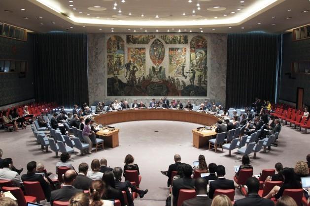 O Conselho de Segurança da ONU debatendo, em 2013, sobre a proteção de jornalistas em conflitos armados. Foto: JC Mc Ilwaine/ONU