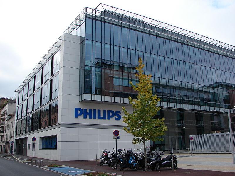 Sede da Philips, na França. Foto: en.wikipedia.org