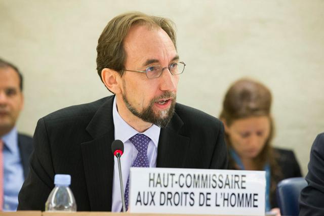 ZeidRa'ad A Hussein,Alto Comissariado para os Direitos Humanos. Foto: Pierre Albouy/ONU
