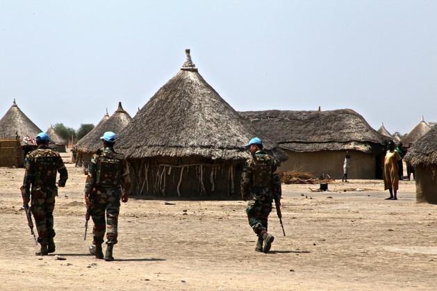 Soldados da Missão de Assistência das Nações Unidas na República do Sudão do Sul (Unmiss). Foto: Jared Ferrie/IPS