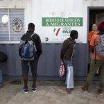 Milhares de africanos perdidos no México