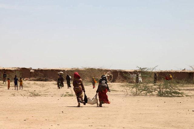 Agricultores da Etiópia. O Chifre da África é uma das regiões mais prejudicadas pelo El Niño. Foto: TamiruLegesse/FAO