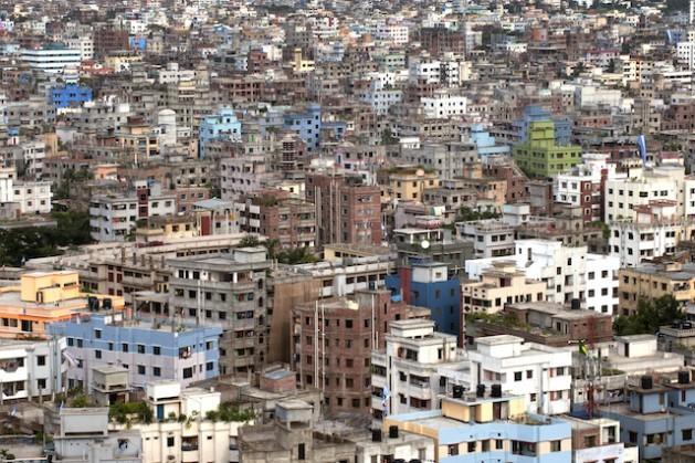 Vista da cidade de Daca, em Bangladesh. Ásia Pacífico vive um rápido processo de urbanização. Foto: Kibae Park/ONU