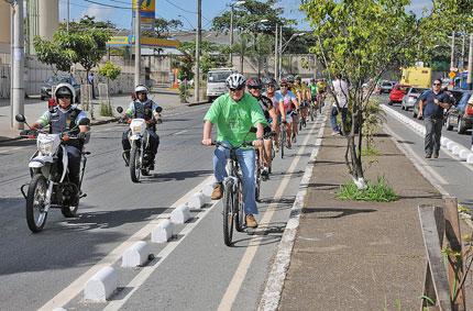 Ciclovia em Belo Horizonte (MG). Foto: Creative commons/Portal PBH