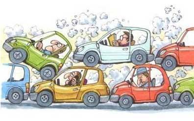 Automóveis, poluição, doenças. Como mudar?