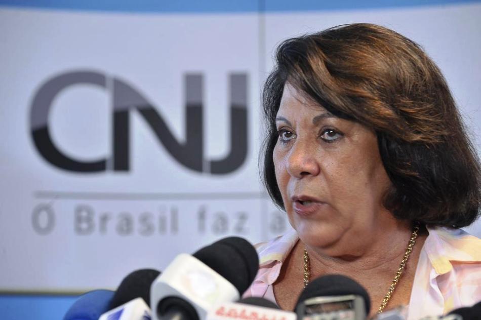 Eliana Calmon, ex-corregedora do CNJ e primeira mulher a ocupar uma cadeira no STJ.Foto: Fábio Pozzebom/Agência Brasil
