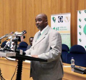 Olabisi Dare, diretor da Divisão de Assuntos Humanitários, Refugiados e Pessoas Deslocadas na Comissão da União Africana.