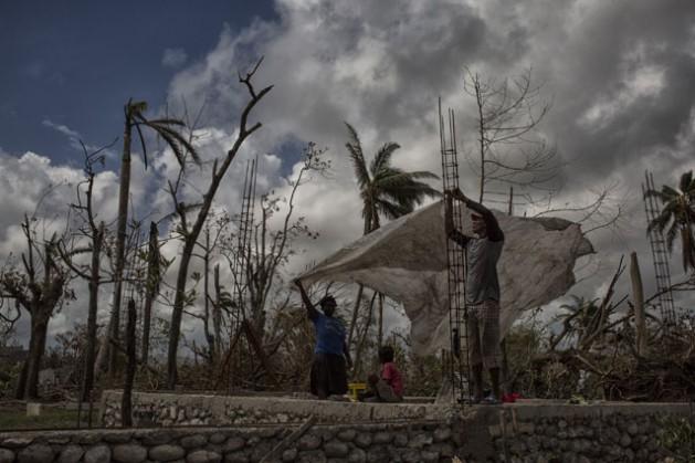A ONU distribui assistência à população de LesCayes, no oeste do Haiti. Foto: Logan AbassiMinustah/ONU