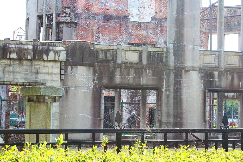 O Memorial da Paz de Hiroshima, chamado Cúpula Genbaku ou Cúpula da Bomba Atômica, pelos japoneses, localiza-se em Hiroshima, Japão.