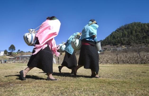 O desenvolvimento e os direitos tardam em chegar para as mulheres indígenas no Estado mexicano de Chiapas. Foto: Mauricio Ramos/IPS